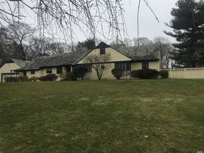 Roslyn Single Family Home For Sale: 142 Woodhollow Rd