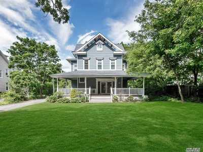 Bayport Single Family Home For Sale: 44 S Ocean Ave