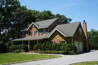 Quogue Single Family Home For Sale: 2 Blueberry Ln