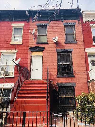Brooklyn Single Family Home For Sale: 67a Somers St