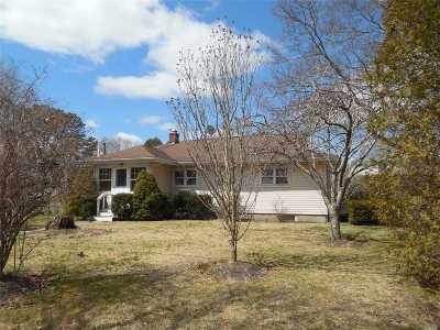 Hampton Bays Single Family Home For Sale: 19 Prospect Ave