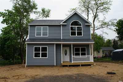 Aquebogue Single Family Home For Sale: N/C Main Rd