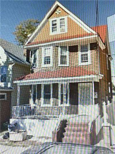 Woodhaven Multi Family Home For Sale: 76-13 88th Ave