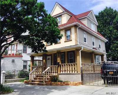 Ozone Park Multi Family Home For Sale: 103-43 107th St