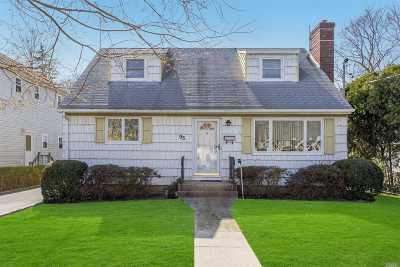 Roslyn Single Family Home For Sale: 93 Burnham Ave