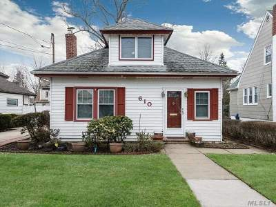 Baldwin Single Family Home For Sale: 610 Emerson Ave