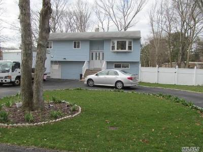 central Islip Single Family Home For Sale: 27 Bayonne Ave