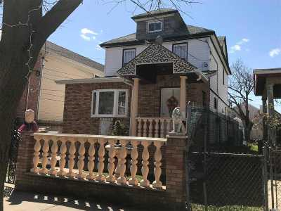 Ozone Park Single Family Home For Sale: 120-26 132nd Street
