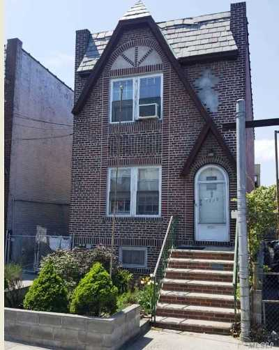 Woodside Single Family Home For Sale: 37-20 60th St