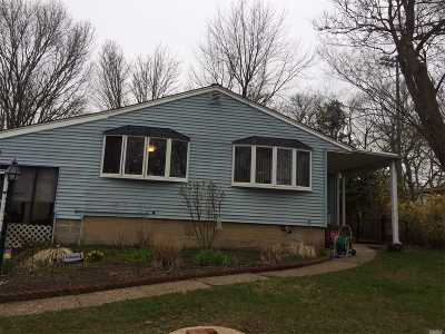 Centereach Single Family Home For Sale: 226 Tree Rd
