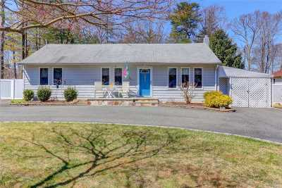 Lake Ronkonkoma Single Family Home For Sale: 12 Lakecrest Ln