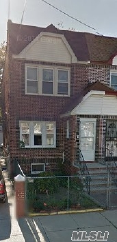 Jamaica Single Family Home For Sale: 119-24 145th St