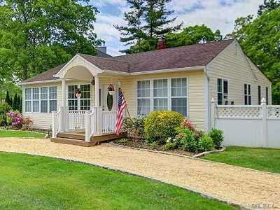Hampton Bays Single Family Home For Sale: 2 Park Ln