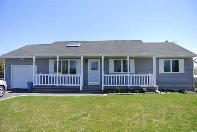 Jamesport Single Family Home For Sale: 37 Fox Ln