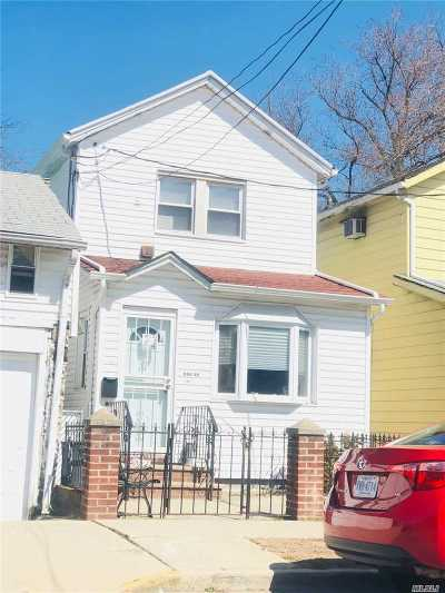 Jamaica Single Family Home For Sale: 123-13 145 St