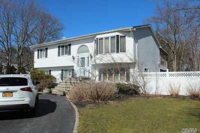 East Moriches Single Family Home For Sale: 171 Pine St