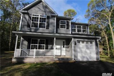 Farmingville Single Family Home For Sale: Lot 28 Hanrahan Ave