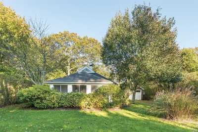 Quogue Single Family Home For Sale: 20 Lamb Ave
