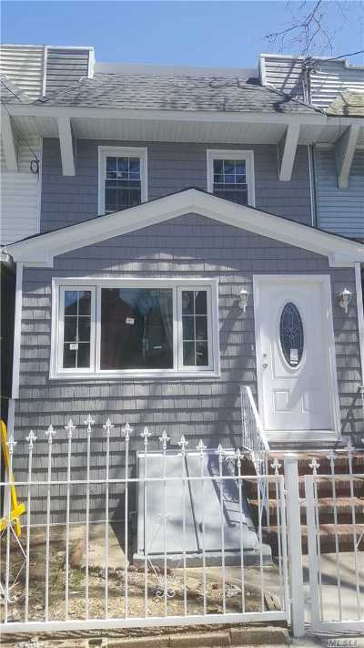 Woodhaven Single Family Home For Sale: 89-07 78 St