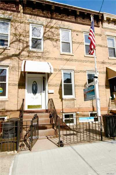 Ridgewood Multi Family Home For Sale: 7425 64th Pace