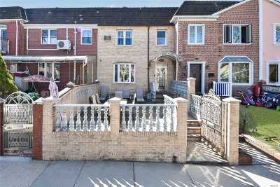 Forest Hills Single Family Home For Sale: 108-44 64 Rd