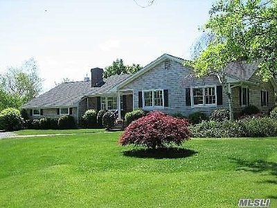 Cutchogue Single Family Home For Sale: 760 Cases Lane Ext
