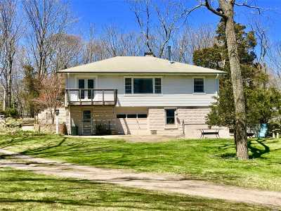 Cutchogue Single Family Home For Sale: 21800 Main Rd