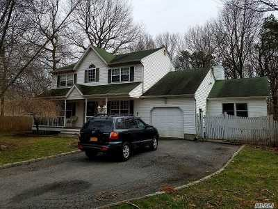 Centereach Single Family Home For Sale: 6 Butler Ct