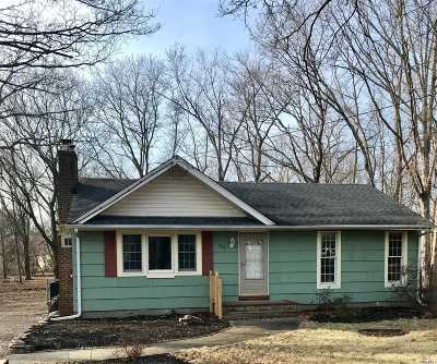 Miller Place Single Family Home For Sale: 480 Miller Place Rd