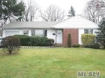 central Islip Single Family Home For Sale: 5 Adams Rd