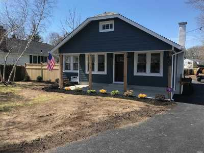 Sayville Single Family Home For Sale: 310 Lakeland Ave