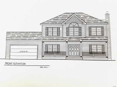 Middle Island Single Family Home For Sale: Lot #7 Church Ln