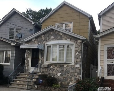 Woodhaven Single Family Home For Sale: 89-31 96th St