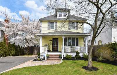 Huntington NY Single Family Home For Sale: $599,000