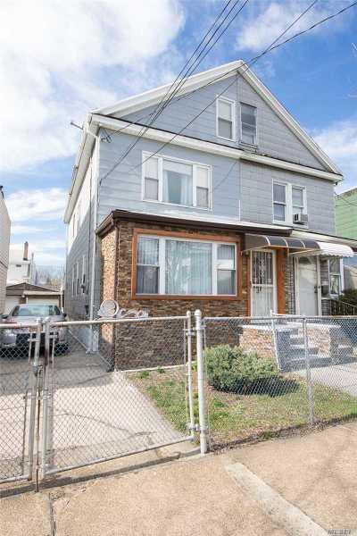 Elmhurst Single Family Home For Sale: 85-07 56th Ave