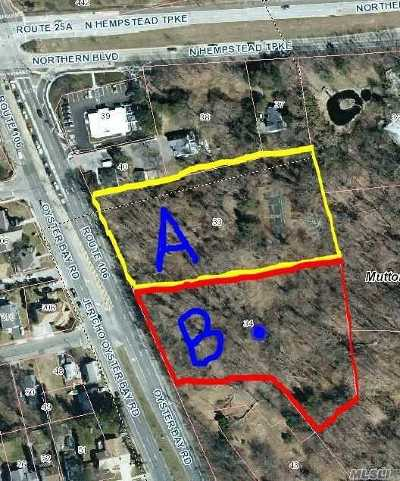 Muttontown Residential Lots & Land For Sale: Parcel B34 N Rt. 106