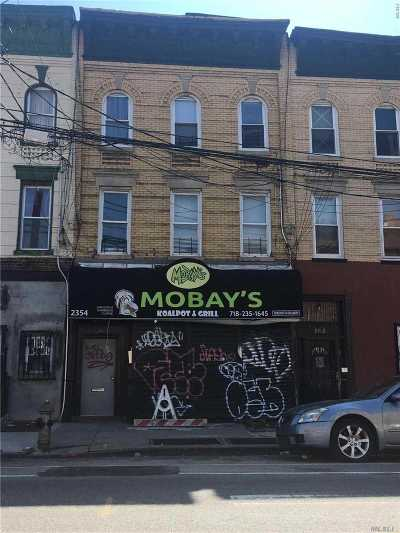 Brooklyn Multi Family Home For Sale: 2354 Pitkin Ave