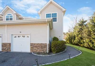 Patchogue Condo/Townhouse For Sale: 38 Terrace Ln