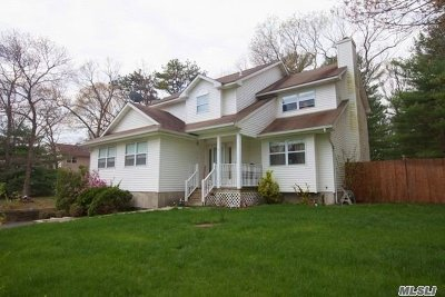 Middle Island Single Family Home For Sale: 4 Brian Ct