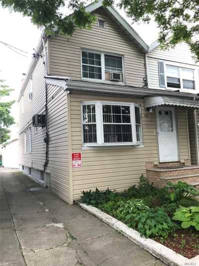 Woodhaven Single Family Home For Sale: 91-21 84th St