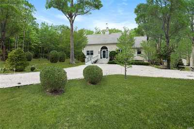 Sag Harbor Single Family Home For Sale: 29 Round Pond Ln