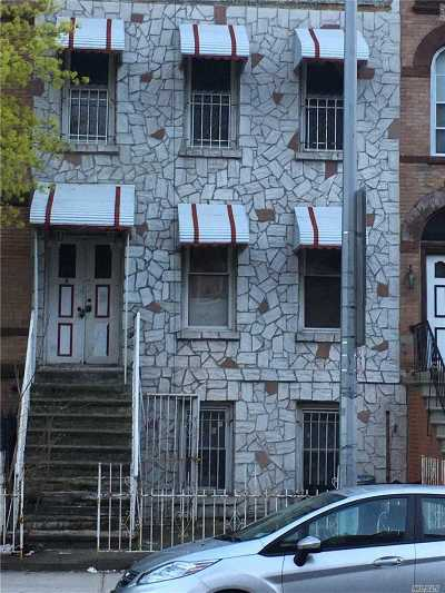 Brooklyn Multi Family Home For Sale: 1416 Saint Marks Ave