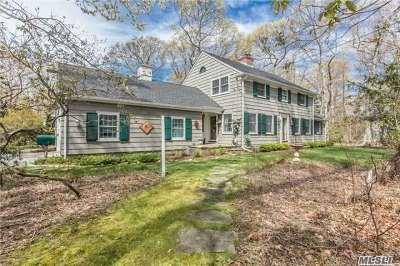 Setauket Single Family Home For Sale: 8 Crane Neck Rd