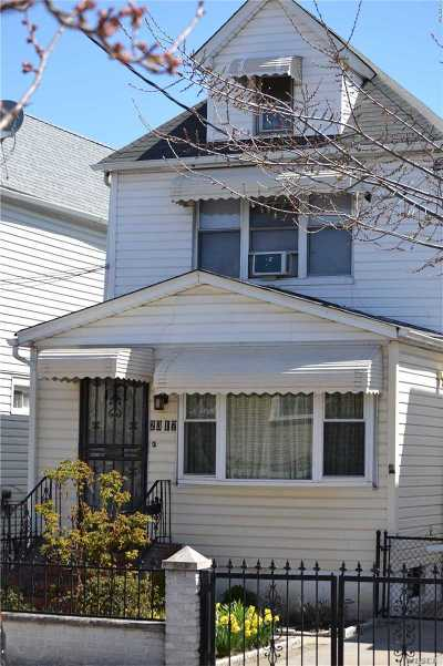 Single Family Home For Sale: 23-17 101st St