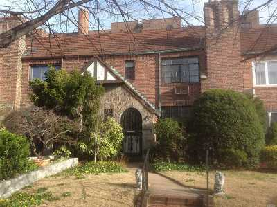 Rego Park Single Family Home For Sale: 99-60 65th Rd
