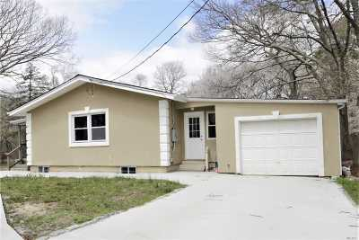 Coram Single Family Home For Sale: 69 Norfleet
