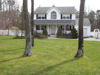 Single Family Home For Sale: 3 Charter Ct