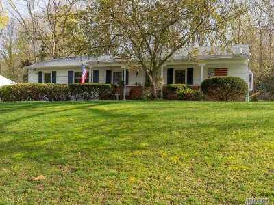 Smithtown Single Family Home For Sale: 48 Derby Pl
