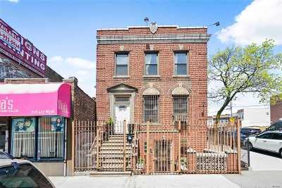 Ridgewood Multi Family Home For Sale: 55-19 Metropolitan Ave