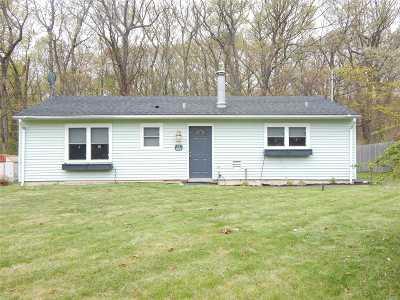 Shoreham Single Family Home For Sale: 13 Defense Hill Rd